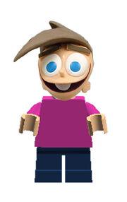 Lego Timmy Turner Figure