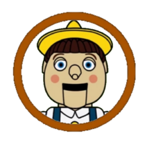 Pinocchio Character Icon