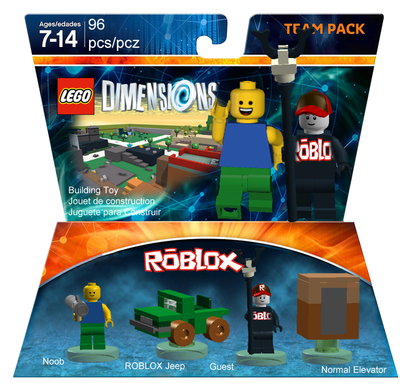 Roblox Team Pack Vesperallight Lego Dimensions Customs