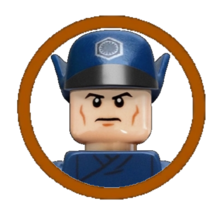 First Order Officer (Blue Suit) Character Icon