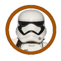 First Order Stormtrooper Sergeant Character Icon
