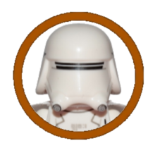 First Order Snowtrooper Character Icon