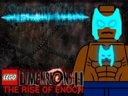 LEGO Dimensions 2- The Rise of Enoch Shadow Man poster