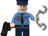 Asylum Police Officer (CJDM1999)