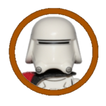 First Order Snowtrooper Officer Character Icon