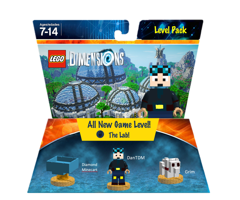 The Diamond Minecart Level Pack Mrflameyt Lego