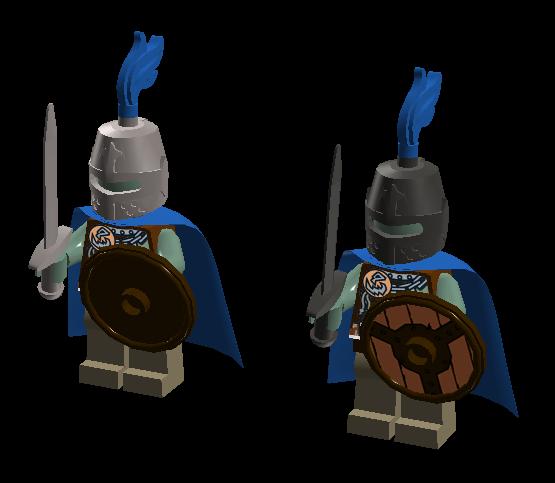 Swordsmen captain
