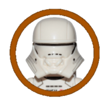 First Order Jet Trooper Character Icon