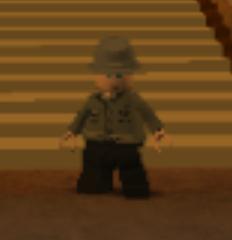 Castle soldier
