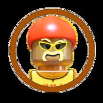 Hulk Hogan Character Icon