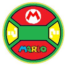 Mario Toy Tag
