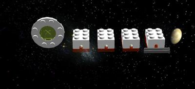 LEGO Mindstorms Health Bar