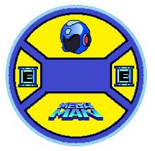 Mega Man Toy Tag