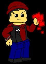 LEGO Evil Delsin Rowe, Video Power