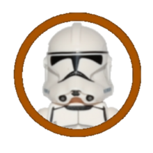 Clone Trooper Character Icon