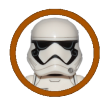 First Order Stormtrooper Character Icon