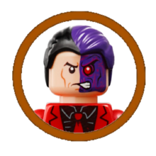 Two-Face Character Icon