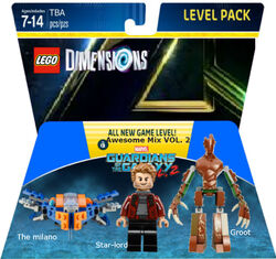 Guardians of the Galaxy vol. 2 Level Pack