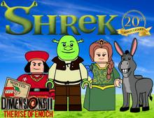 LEGO Dimensions 2- The Rise of Enoch Shrek 20th Anniversary