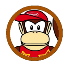 Diddy Kong Character Icon