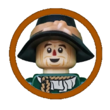 Scarecrow Character Icon
