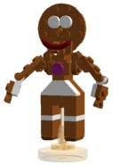 Enlargened Gingerbread Man