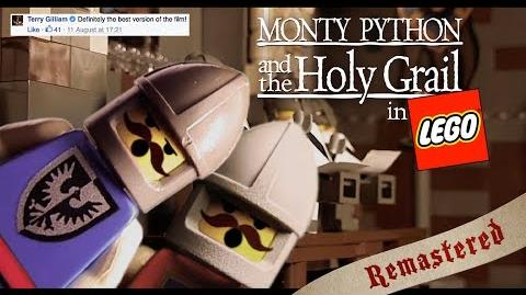 Monty Python and the Holy Grail in LEGO - Remastered