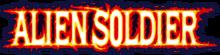 Alien Soldier Logo