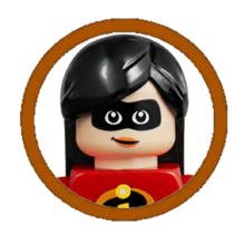 Violet Parr Character Icon