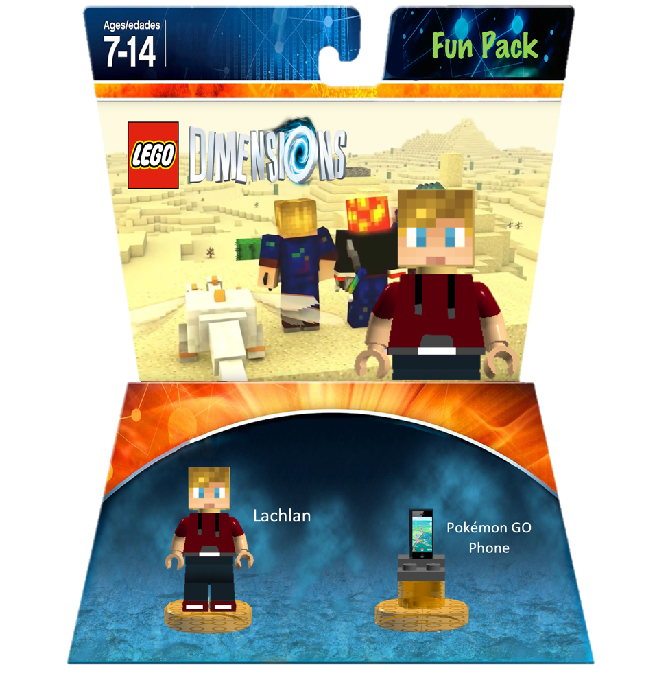 Lachlan Fun Pack Mrflameyt Lego Dimensions Customs