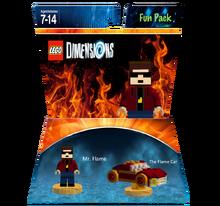 Mr. Flame Fun Pack