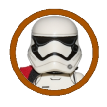 First Order Stormtrooper Officer Character Icon