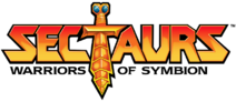 Sectaurs Warriors of Symbion Logo