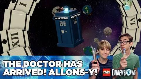 The Doctor Has Arrived! Allons-y!