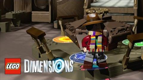 LEGO Dimensions How To Unlock The Fourth Doctor's Wooden TARDIS
