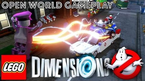 LEGO Dimensions Open World Game-Play (w Ghostbuster Level Pack)