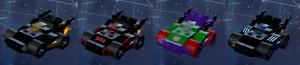 Batmobile Skins