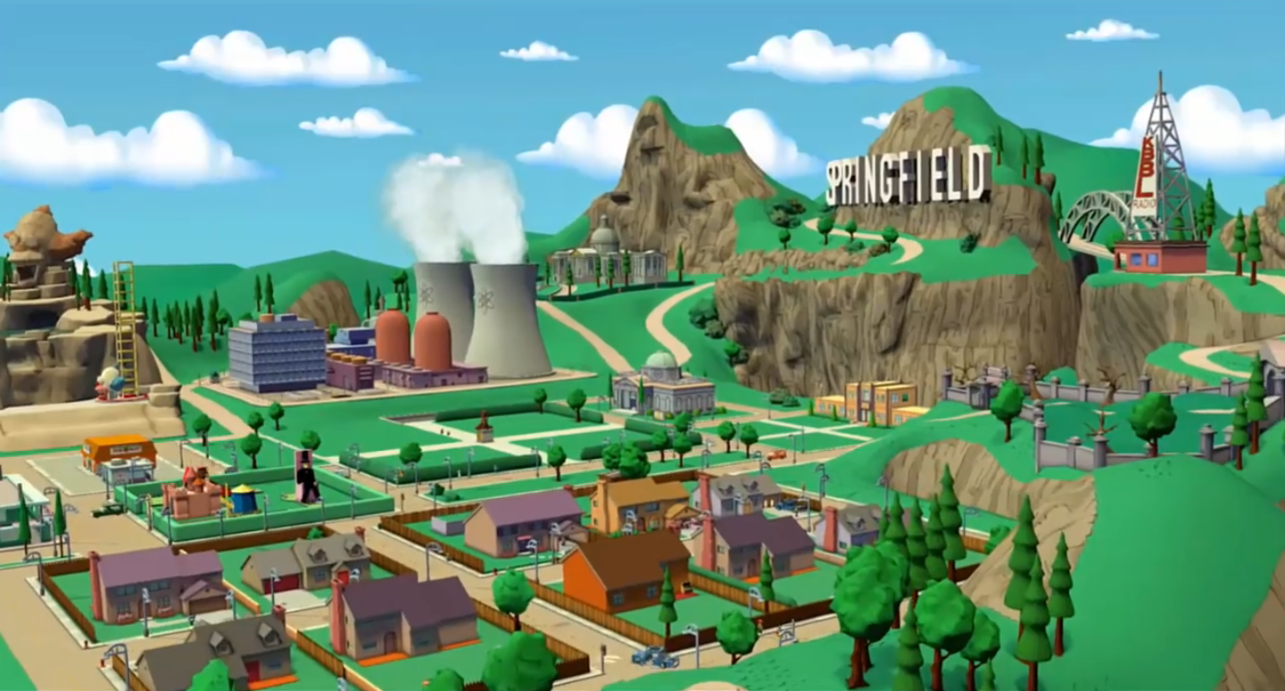 Springfield Usa Map.Springfield Lego Dimensions Wiki Fandom Powered By Wikia