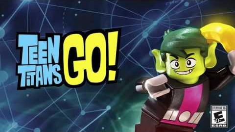 LEGO Dimensions Beast Boy Spotlight!