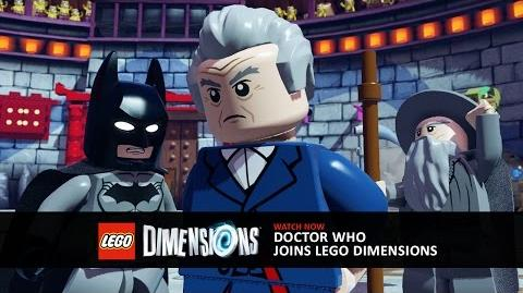Official SDCC Video Doctor Who Joins LEGO Dimensions