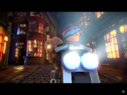E.T.-Wyldstyle Riding IMF Scrambler
