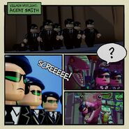 Agent Smith Comic