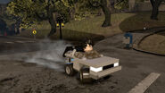 Harry Potter driving Delorean Lego Dimension