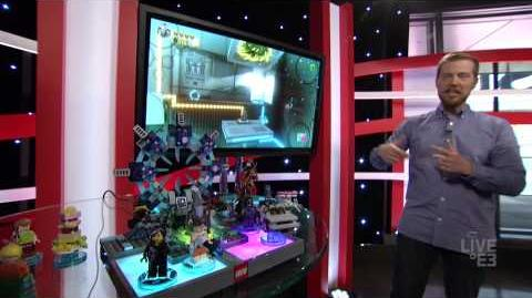 Lego Dimensions Exclusive Live Demo E3 2015