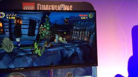 Legos Dimensions Video Game Play, San Diego Comic Con 2015