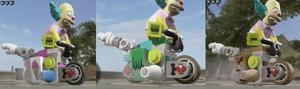 Clown Bike Skins