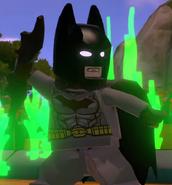Batman with batarang