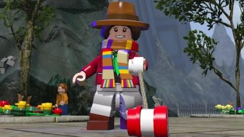 LEGO Dimensions - Secret TARDIS Interior Fourth Doctor & Free Roam (Character Showcase)