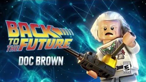 Character Spotlight Doc Brown LEGO Dimensions