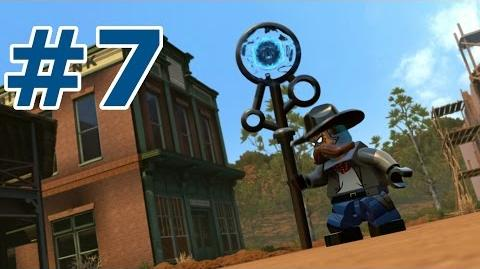 LEGO Dimensions Walkthrough - Part 7 (Once Upon A Time Machine in the West)